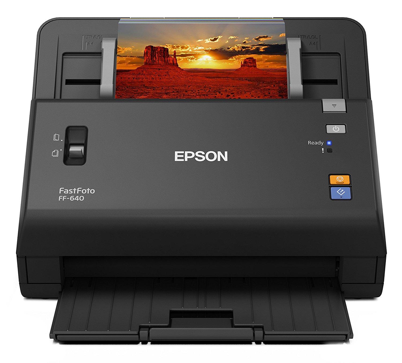 Epson FastFoto FF-640 photo scanner