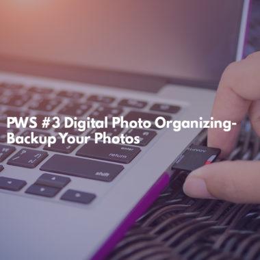 Digital Photo Organizing-Backup Your Photos