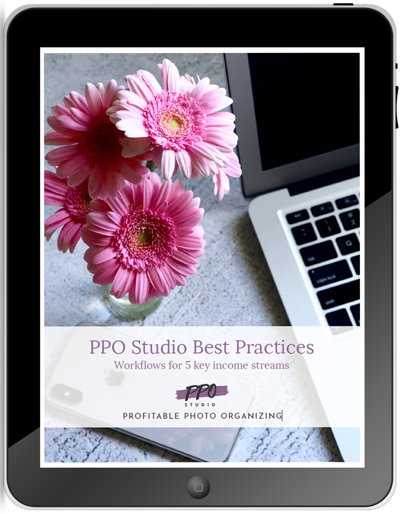 photo organizing best practices