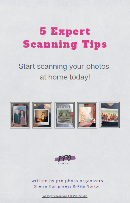 photo scanning expert tips